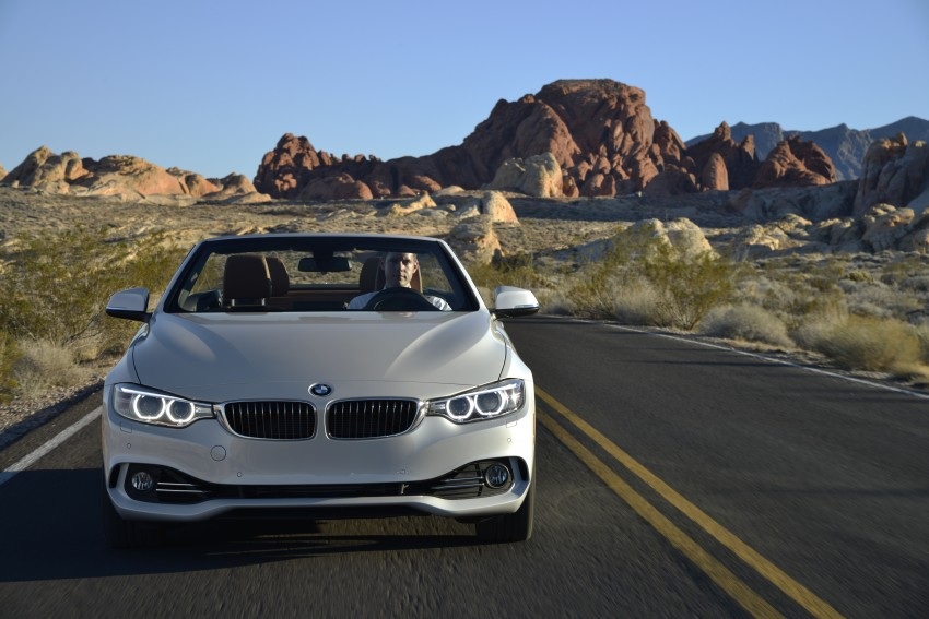 DRIVEN: BMW 435i Convertible tested in Las Vegas Image #228954