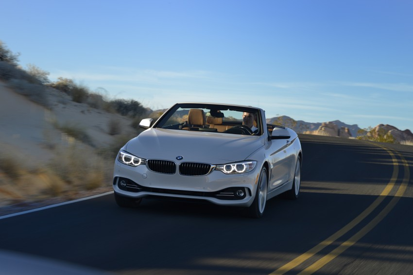 DRIVEN: BMW 435i Convertible tested in Las Vegas Image #228953