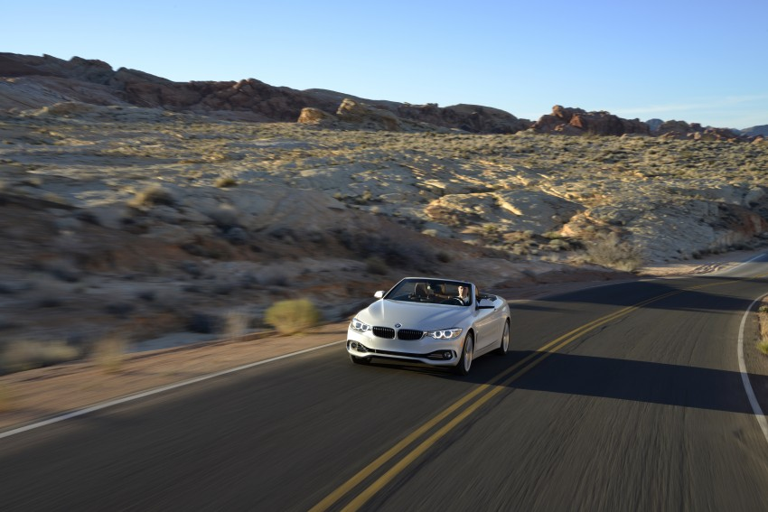 DRIVEN: BMW 435i Convertible tested in Las Vegas Image #228952