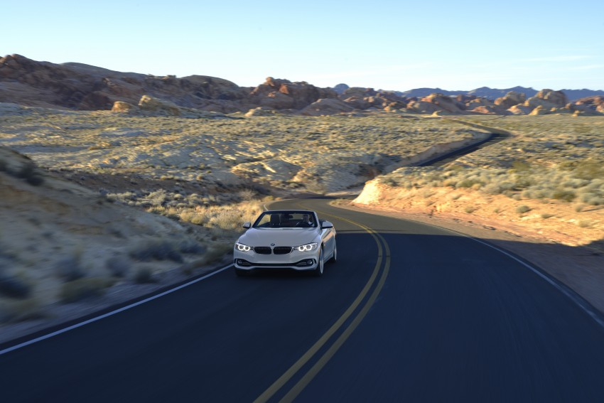 DRIVEN: BMW 435i Convertible tested in Las Vegas Image #228951