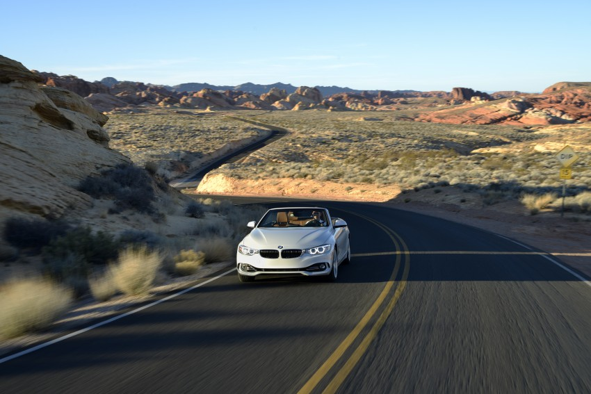 DRIVEN: BMW 435i Convertible tested in Las Vegas Image #228950