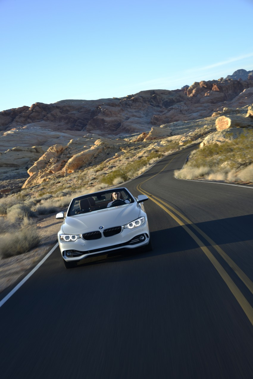 DRIVEN: BMW 435i Convertible tested in Las Vegas Image #228949