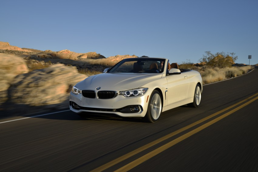 DRIVEN: BMW 435i Convertible tested in Las Vegas Image #228948