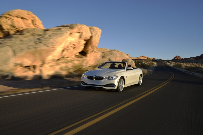 DRIVEN: BMW 435i Convertible tested in Las Vegas Image #228947