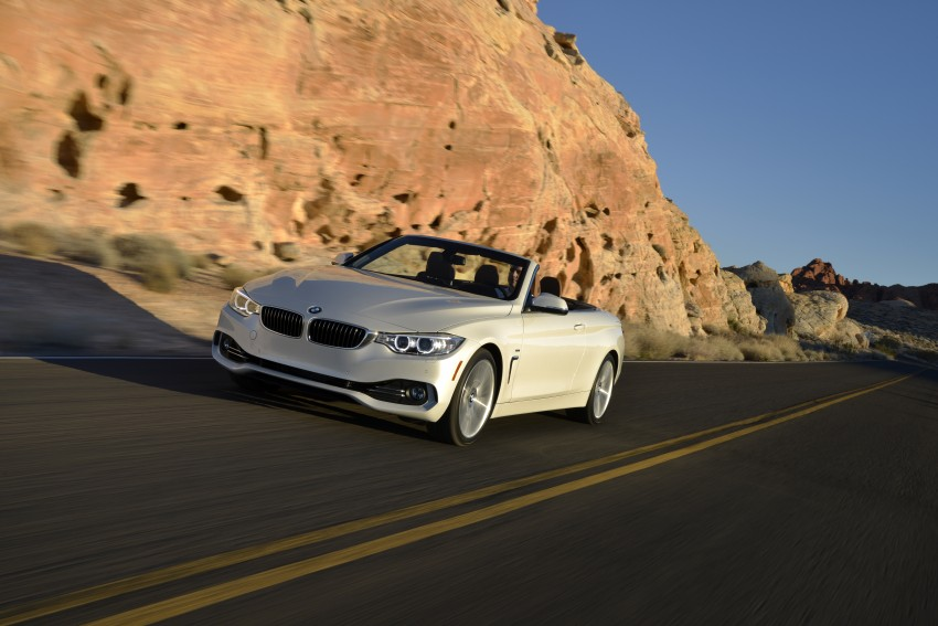 DRIVEN: BMW 435i Convertible tested in Las Vegas Image #228946