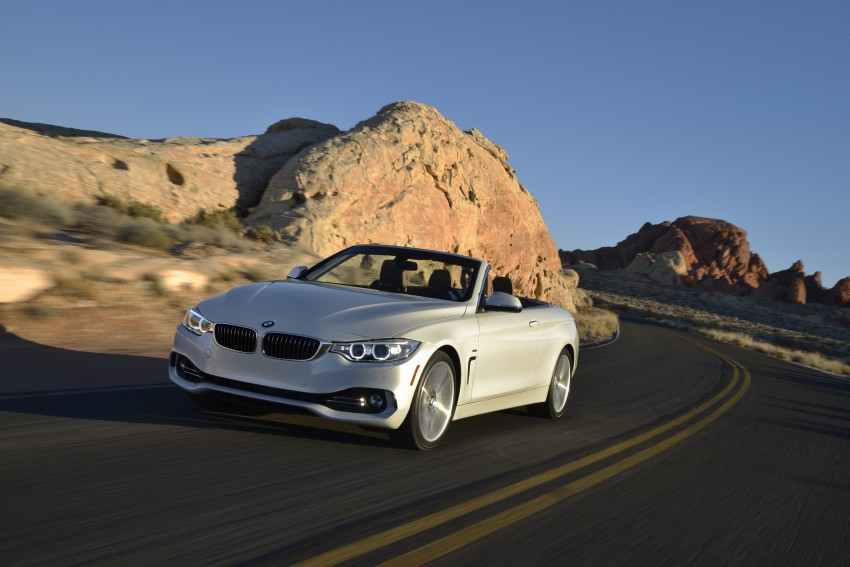 DRIVEN: BMW 435i Convertible tested in Las Vegas Image #228945