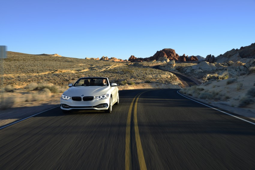 DRIVEN: BMW 435i Convertible tested in Las Vegas Image #228943