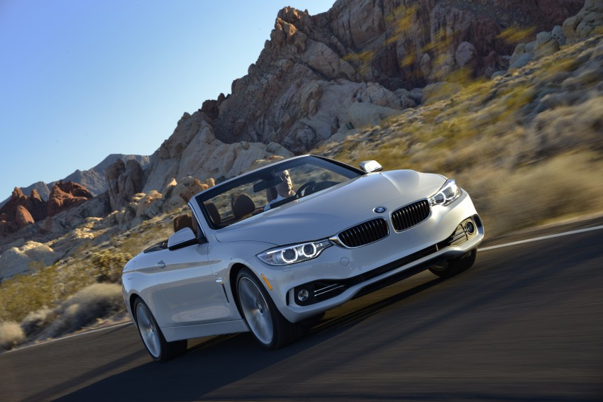 DRIVEN: BMW 435i Convertible tested in Las Vegas Image #228942