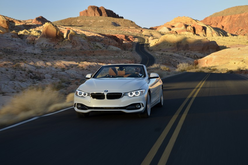 DRIVEN: BMW 435i Convertible tested in Las Vegas Image #228941