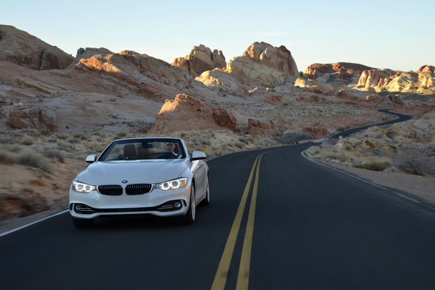 DRIVEN: BMW 435i Convertible tested in Las Vegas Image #228940