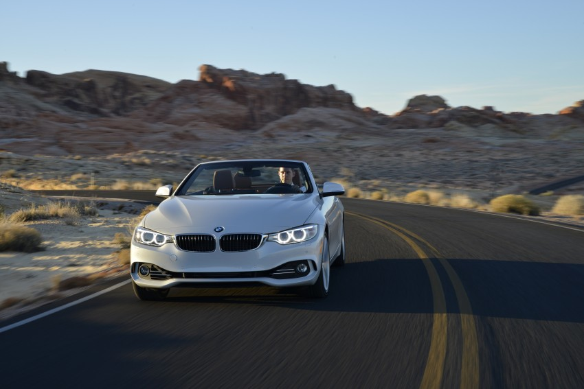 DRIVEN: BMW 435i Convertible tested in Las Vegas Image #228939