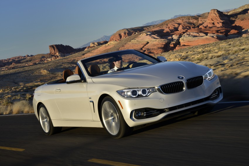 DRIVEN: BMW 435i Convertible tested in Las Vegas Image #228938