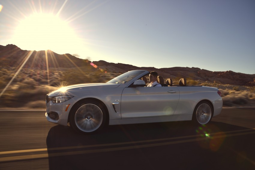 DRIVEN: BMW 435i Convertible tested in Las Vegas Image #228937