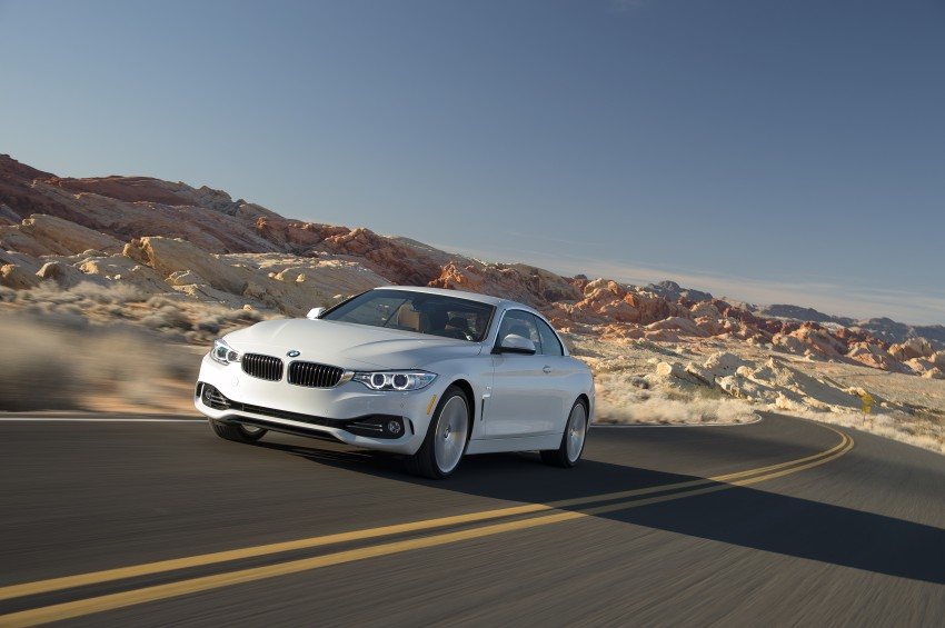 DRIVEN: BMW 435i Convertible tested in Las Vegas Image #228936