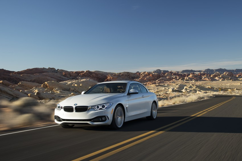 DRIVEN: BMW 435i Convertible tested in Las Vegas Image #228935