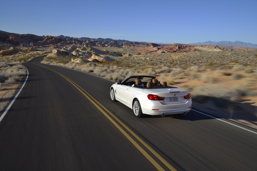 DRIVEN: BMW 435i Convertible tested in Las Vegas Image #228934