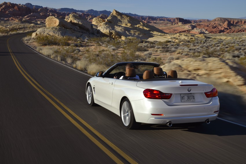 DRIVEN: BMW 435i Convertible tested in Las Vegas Image #228933
