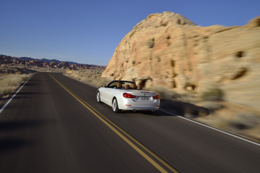 DRIVEN: BMW 435i Convertible tested in Las Vegas Image #228932