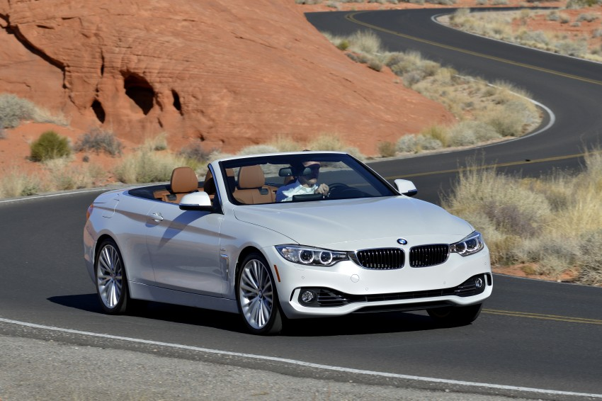DRIVEN: BMW 435i Convertible tested in Las Vegas Image #228929