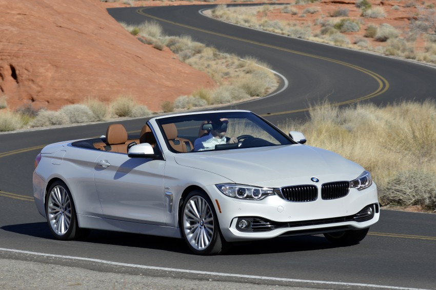 DRIVEN: BMW 435i Convertible tested in Las Vegas Image #228928