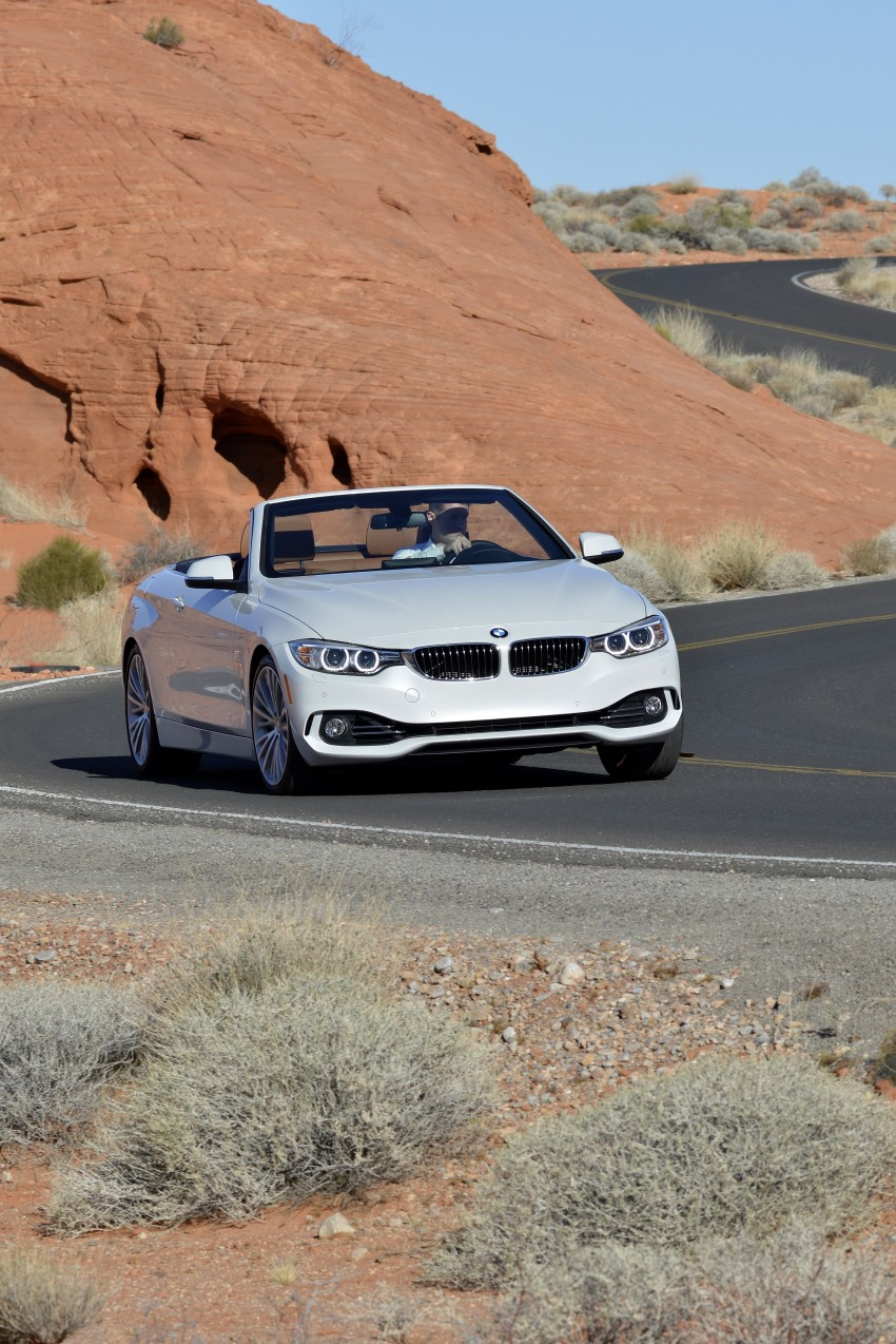 DRIVEN: BMW 435i Convertible tested in Las Vegas Image #228927