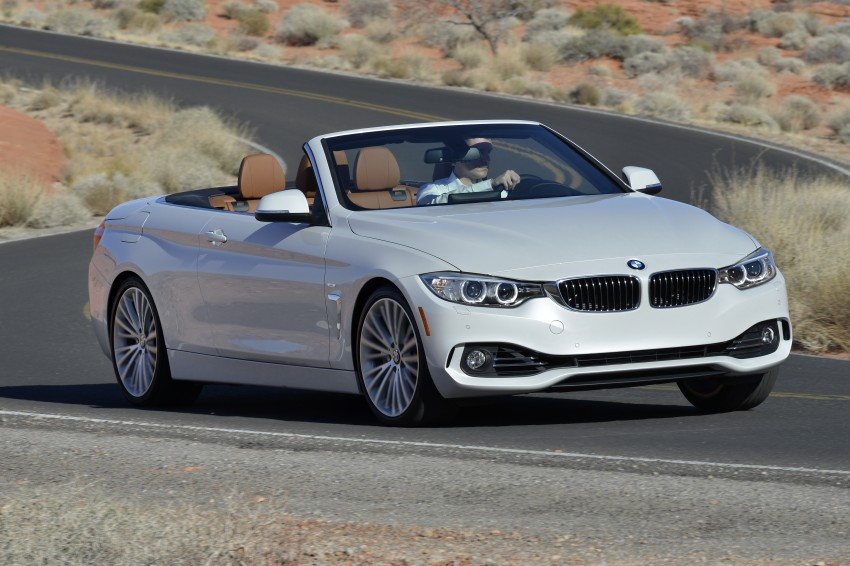 DRIVEN: BMW 435i Convertible tested in Las Vegas Image #228926