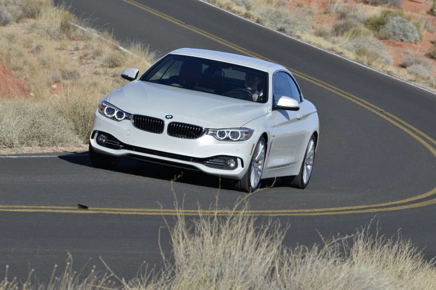 DRIVEN: BMW 435i Convertible tested in Las Vegas Image #228925