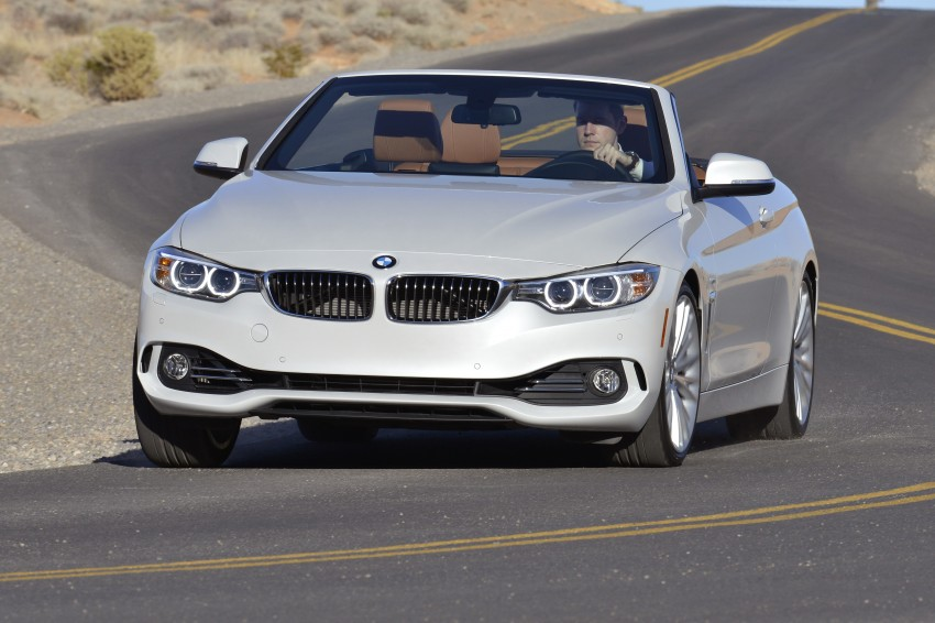 DRIVEN: BMW 435i Convertible tested in Las Vegas Image #228924