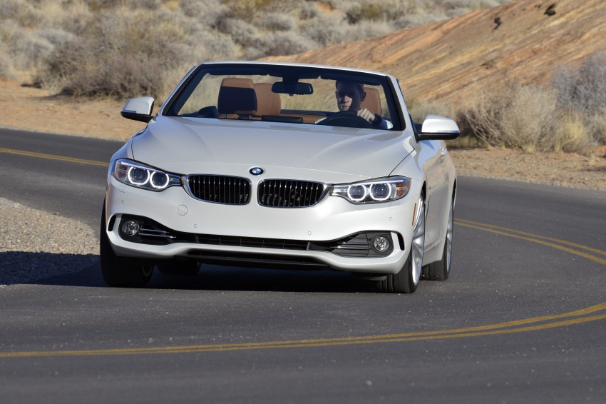 DRIVEN: BMW 435i Convertible tested in Las Vegas Image #228923