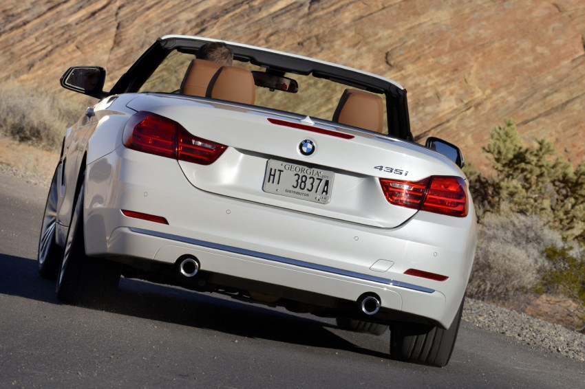 DRIVEN: BMW 435i Convertible tested in Las Vegas Image #228922