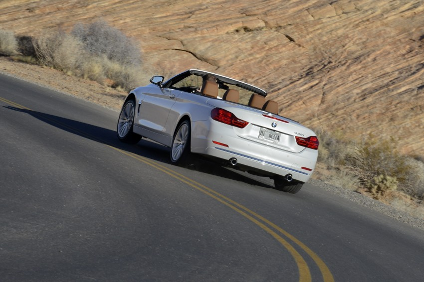 DRIVEN: BMW 435i Convertible tested in Las Vegas Image #228921