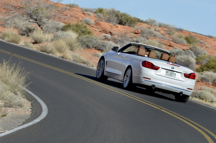DRIVEN: BMW 435i Convertible tested in Las Vegas Image #228920