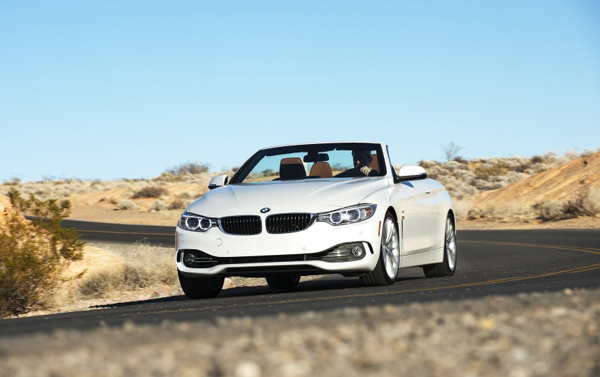 DRIVEN: BMW 435i Convertible tested in Las Vegas Image #228918