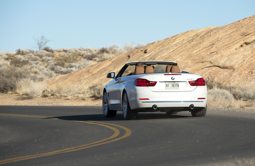 DRIVEN: BMW 435i Convertible tested in Las Vegas Image #228917