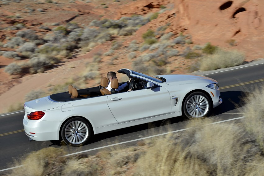 DRIVEN: BMW 435i Convertible tested in Las Vegas Image #228916