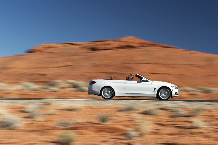 DRIVEN: BMW 435i Convertible tested in Las Vegas Image #228915