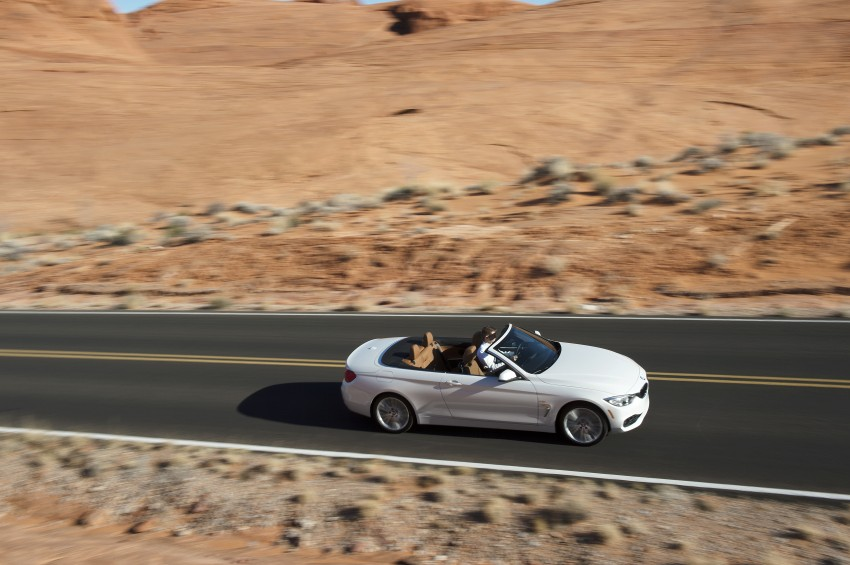 DRIVEN: BMW 435i Convertible tested in Las Vegas Image #228914
