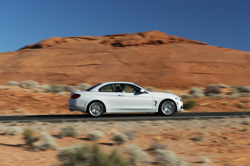 DRIVEN: BMW 435i Convertible tested in Las Vegas Image #228913