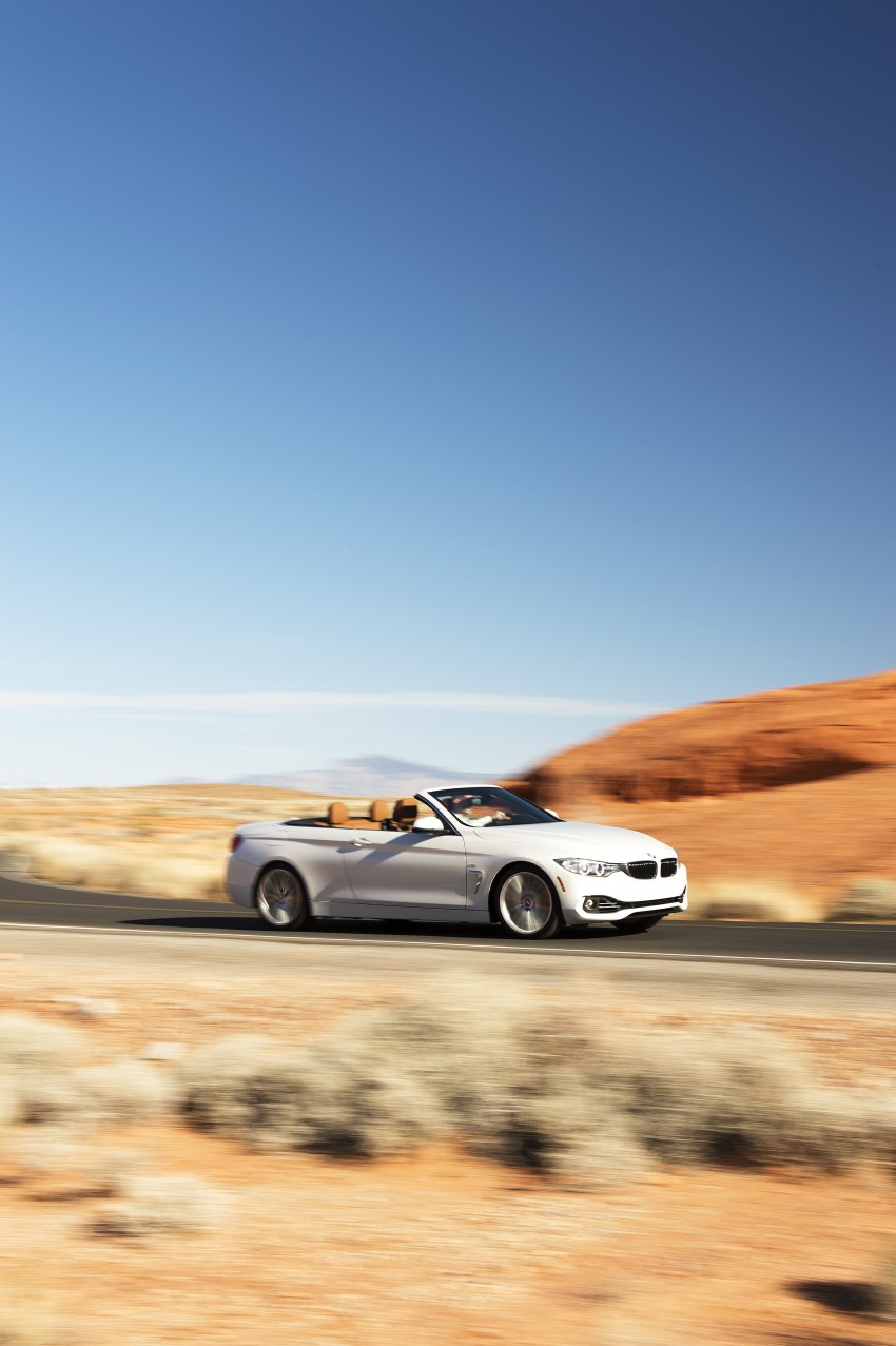 DRIVEN: BMW 435i Convertible tested in Las Vegas Image #228912