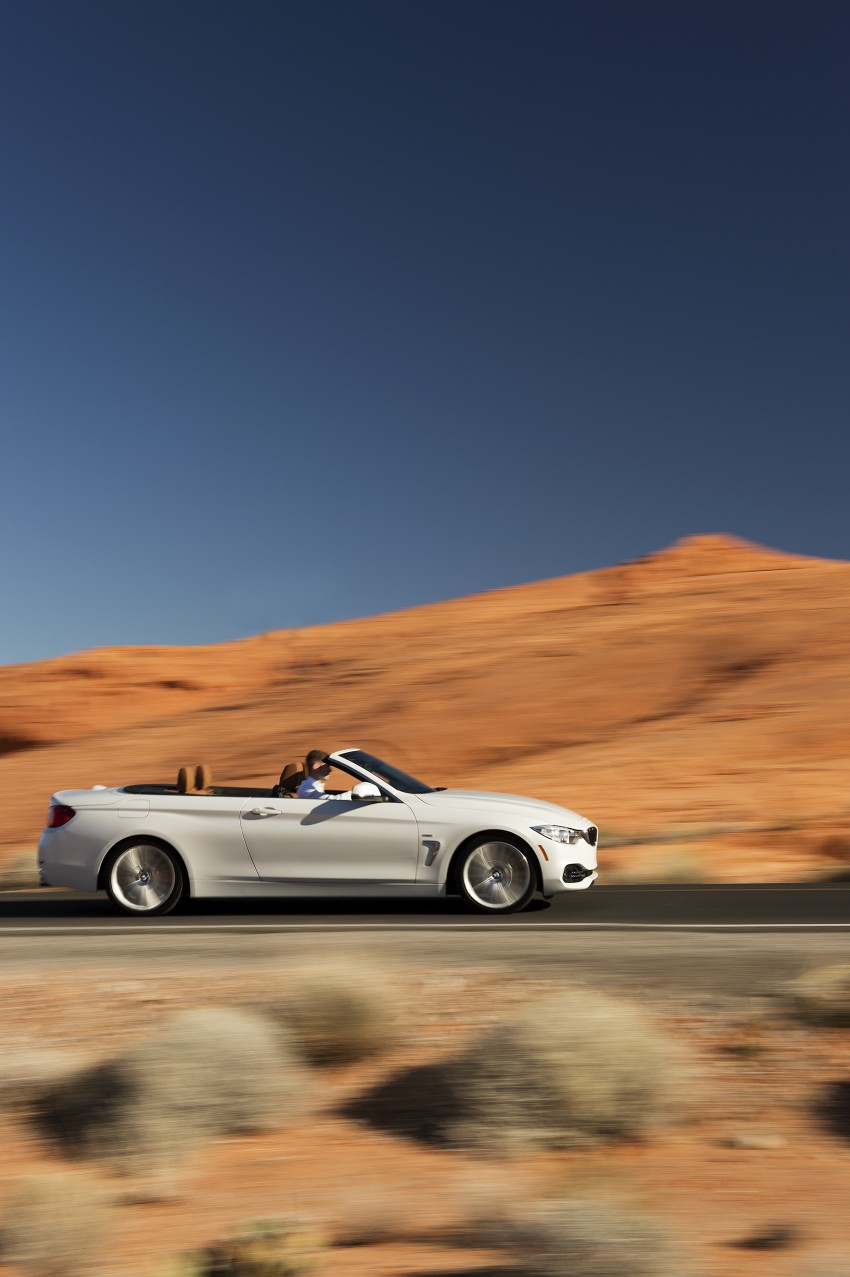 DRIVEN: BMW 435i Convertible tested in Las Vegas Image #228911