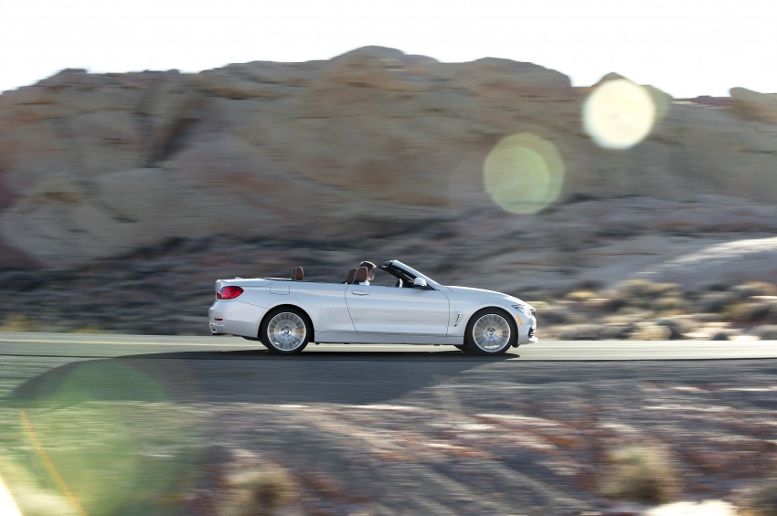 DRIVEN: BMW 435i Convertible tested in Las Vegas Image #228910