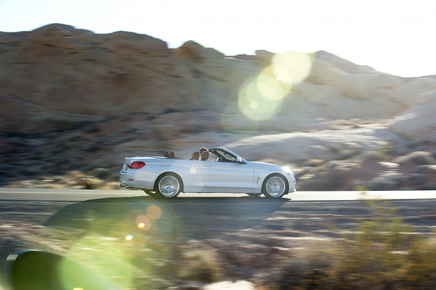 DRIVEN: BMW 435i Convertible tested in Las Vegas Image #228909