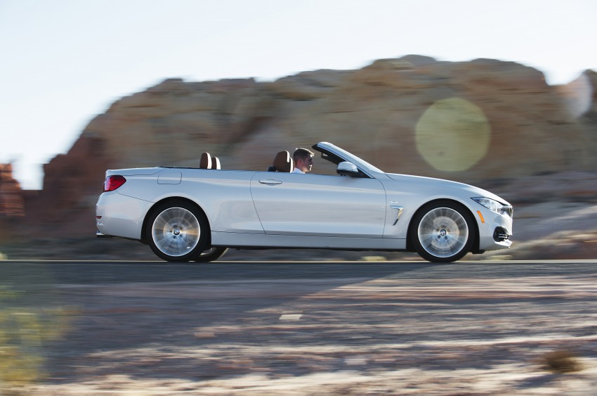 DRIVEN: BMW 435i Convertible tested in Las Vegas Image #228908