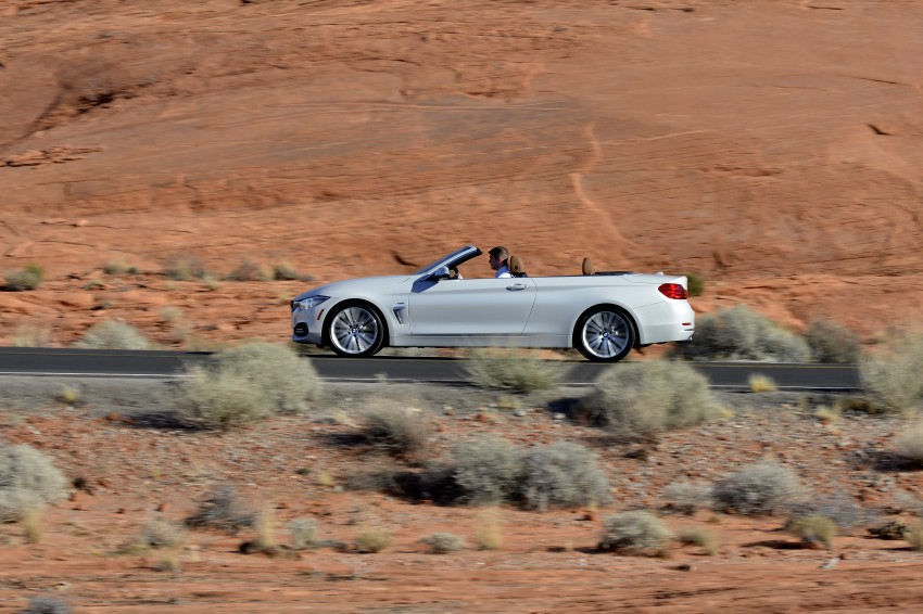 DRIVEN: BMW 435i Convertible tested in Las Vegas Image #228907