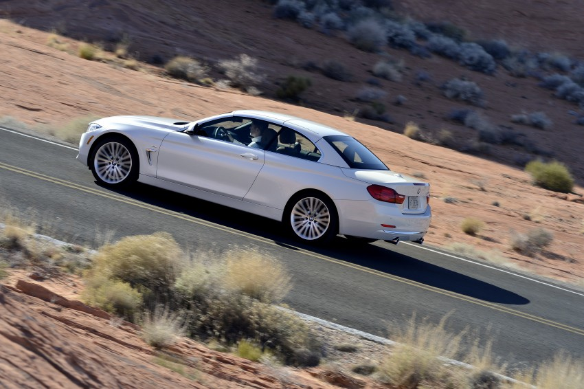 DRIVEN: BMW 435i Convertible tested in Las Vegas Image #228906