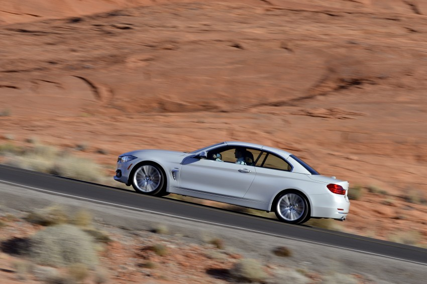 DRIVEN: BMW 435i Convertible tested in Las Vegas Image #228905