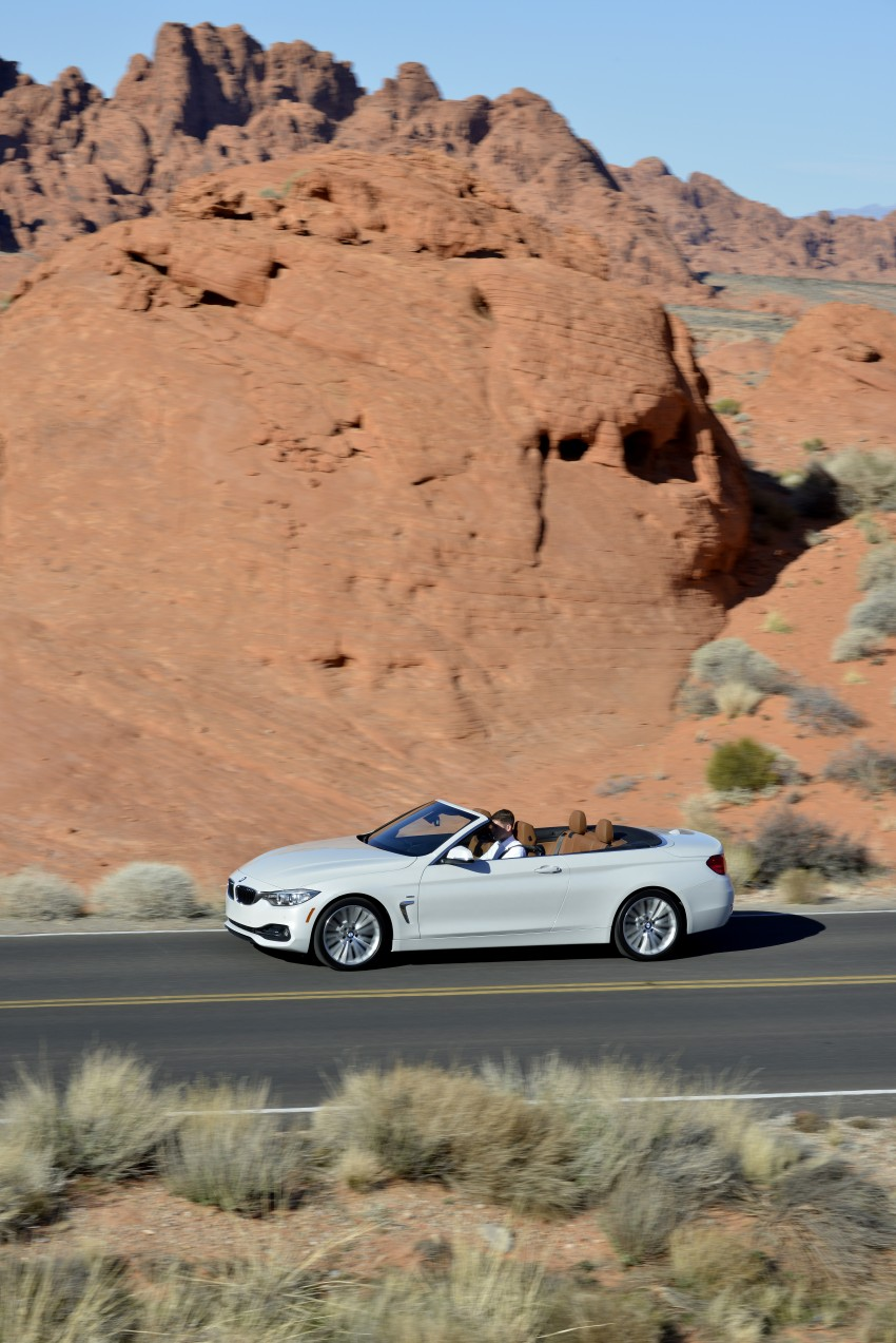 DRIVEN: BMW 435i Convertible tested in Las Vegas Image #228904