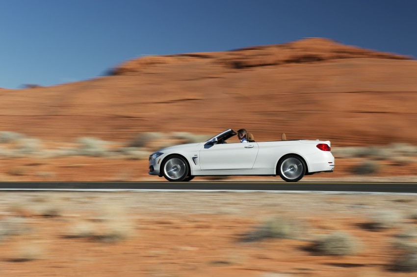 DRIVEN: BMW 435i Convertible tested in Las Vegas Image #228903