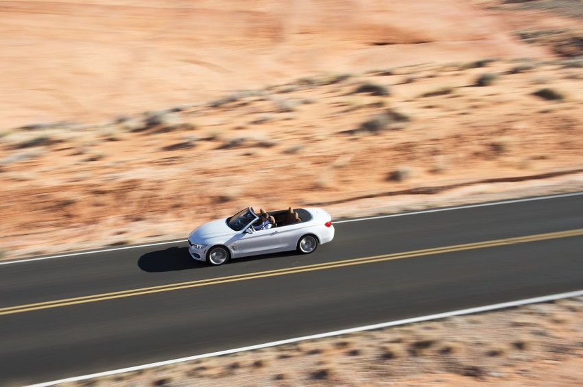 DRIVEN: BMW 435i Convertible tested in Las Vegas Image #228902