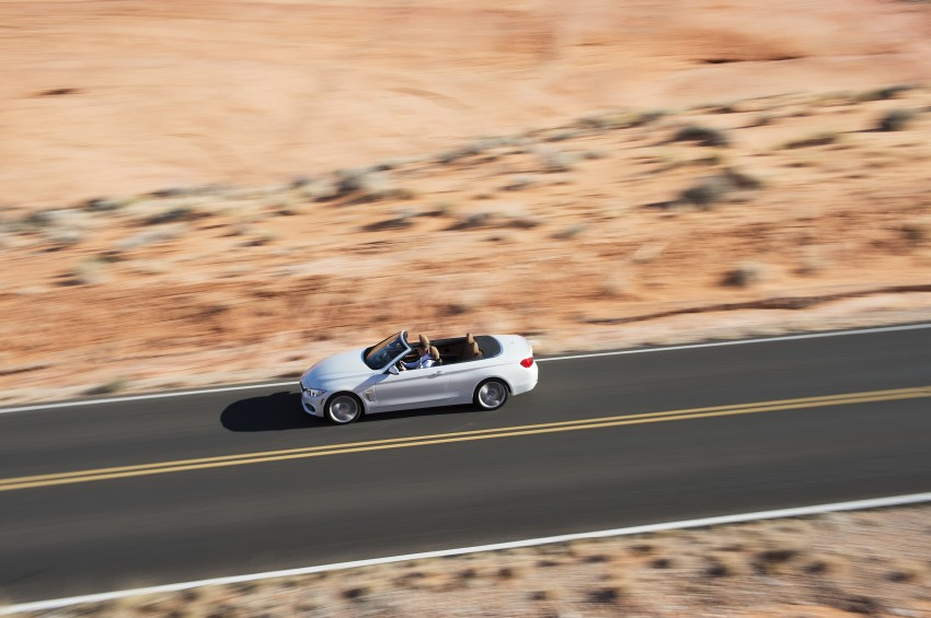 DRIVEN: BMW 435i Convertible tested in Las Vegas Image #228901